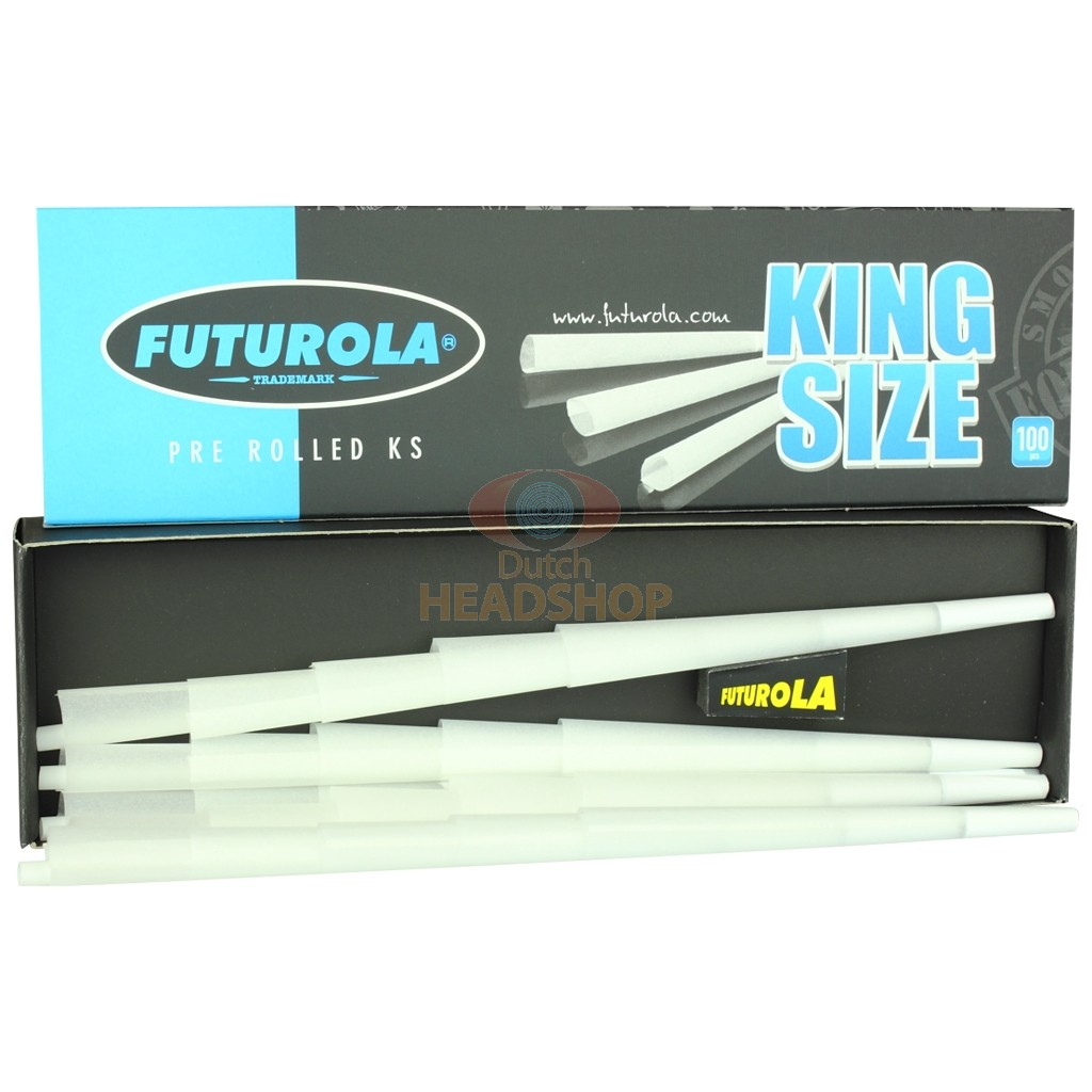 Cônes King-Size Joint Préroulé (Futurola) 109 mm