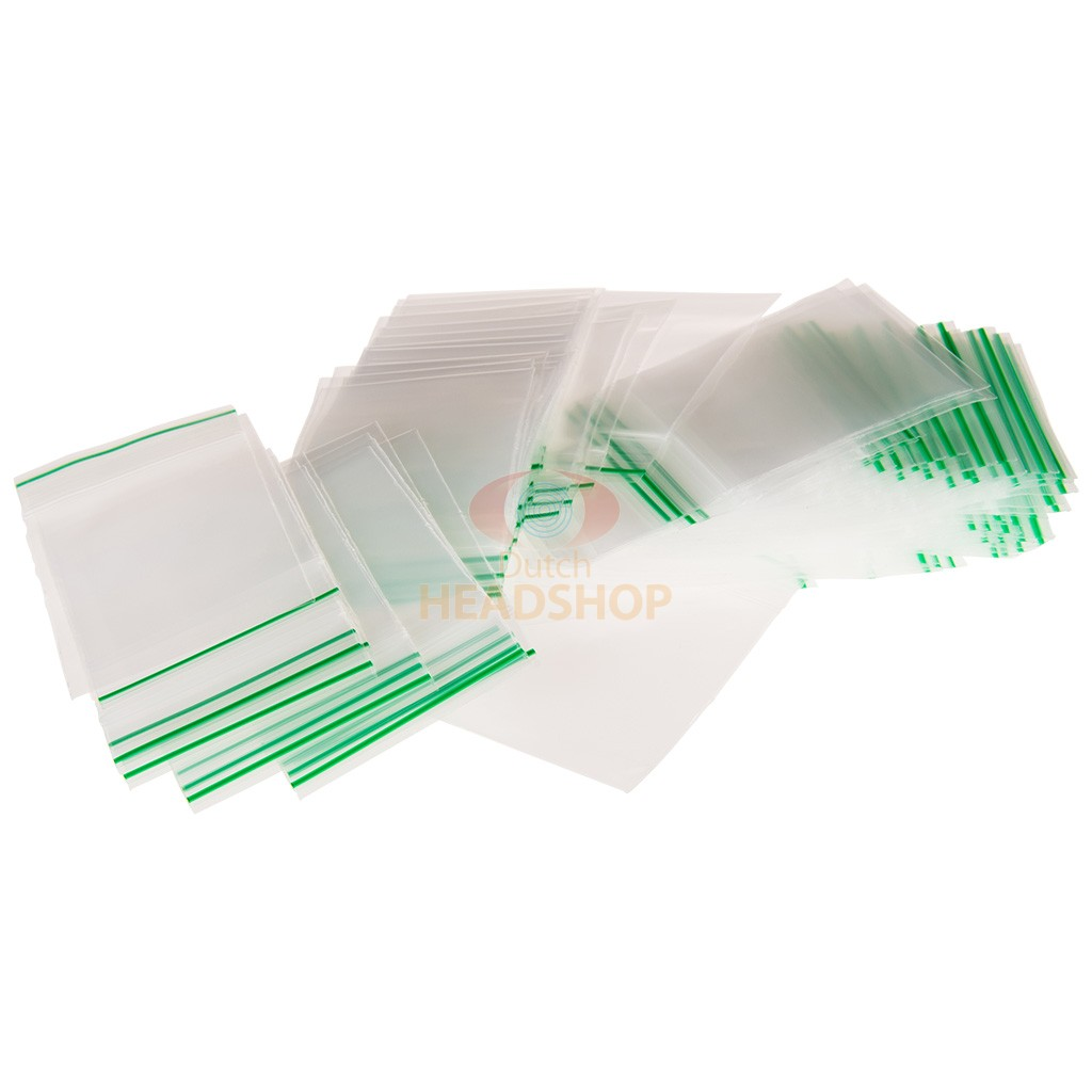 sachet plastique zip 55x65 transparents (0,09mm) | dutch headshop