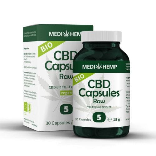 Capsules au CBD Medihemp Dutch Headshop