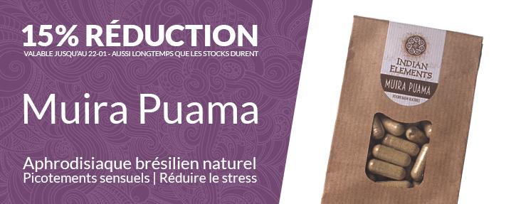15% Réduction Indian Elements Muira Puama
